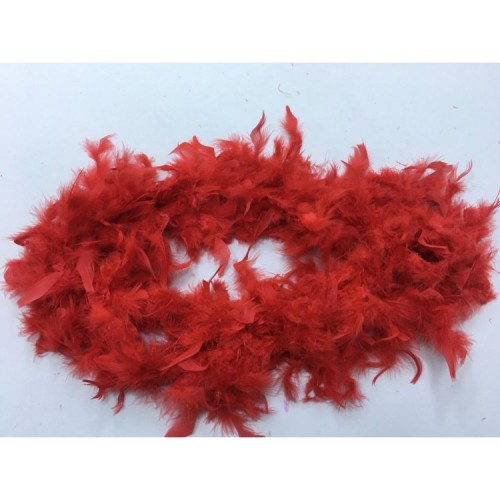 Kırmızı Kaz Tüyü 2 metre